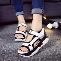 2017 Summer Style Classic Women Sandals Woman Platform Shoes Open Toe Flip Flops Thick Soled Sandalias