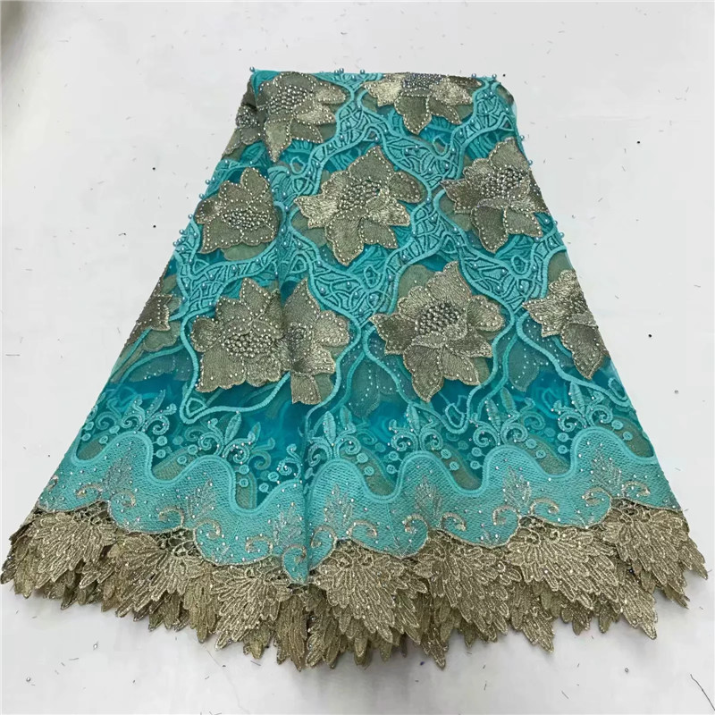 African Tulle Lace Fabric 2018 French Lace Fabric High Quality With Stones Nigerian Embroidery Mesh Lace WD080331African Tulle Lace Fabric 2018 French Lace Fabric High Quality With Stones Nigerian Embroidery Mesh Lace WD080331