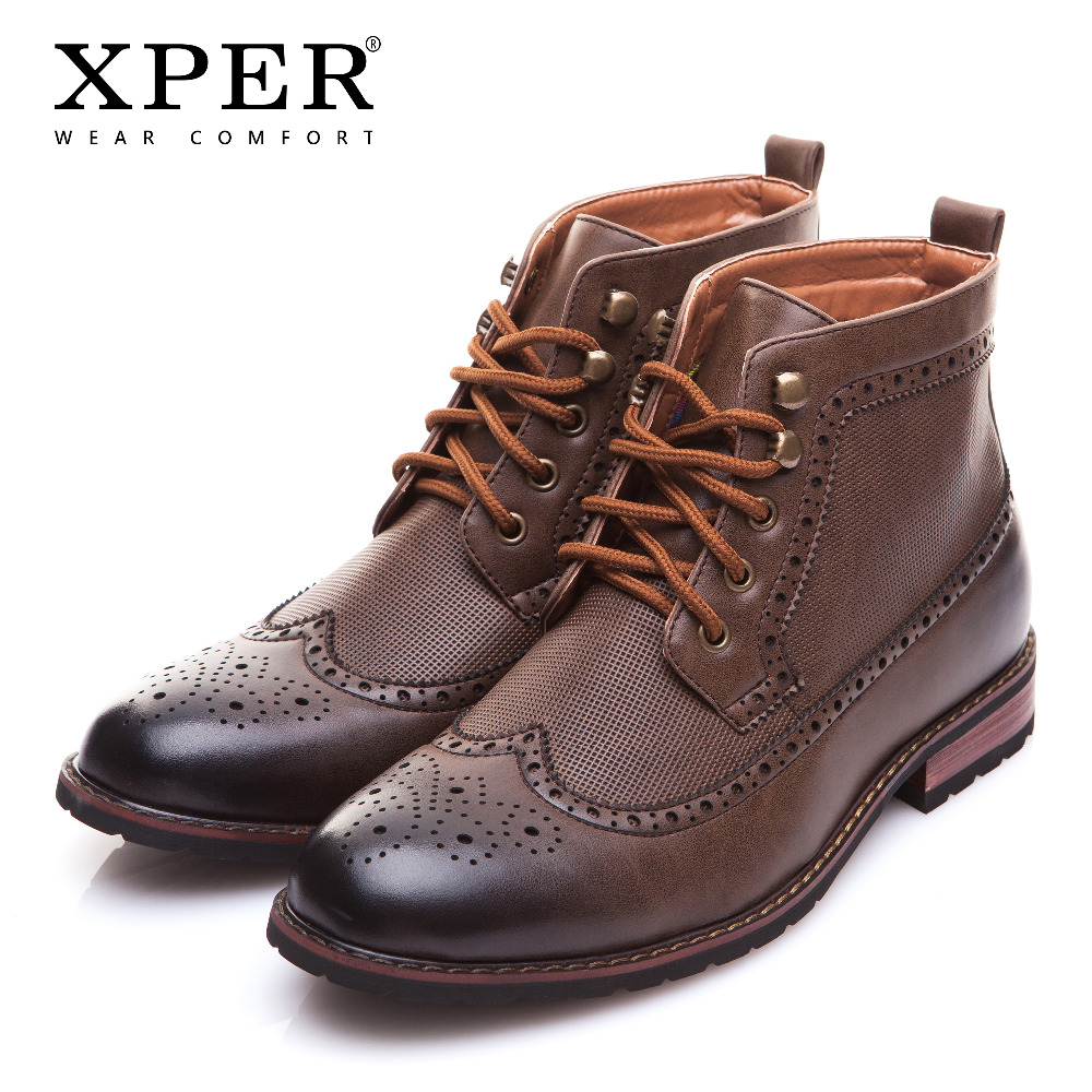 Xper brand new men shoes spring winter boots fashion