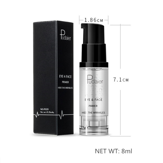 Pudaier Natural Face Base Primer Foundation Professional Makeup Nude Moisturizer Cream Eye Shadow Primer Gel Cosmetics Maquiagem 5