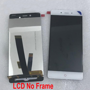Image 2 - 100% מקורי הטוב ביותר עבודה זכוכית חיישן עבור ZTE נוביה Z11 NX531J LCD תצוגת לוח מגע מסך Digitizer עצרת עם מסגרת
