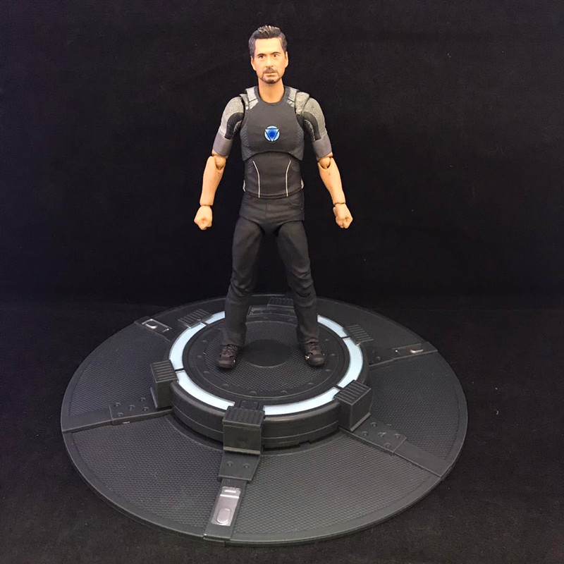 Les Avengers Iron Man Tony Stark SHF figurine d'action mobile en PVC modèle de collection jouet environ 15 CM