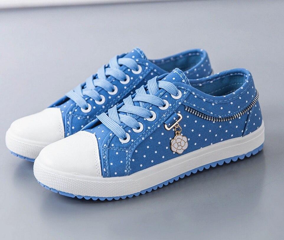 89edb3b35b8 High help women canvas shoes 2017 new flat denim casual shoes Floral high  quality Small fresh women shoes