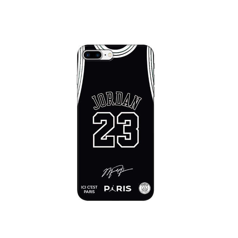 c087fabba7e Fly PSG Paris Football Jersey Jordan 23 Soft silicone black TPU Phone Case  Cover For iPhone X 5 5S SE 6 XR XS MAX 8 8Plus-in Phone Pouch from  Cellphones ...