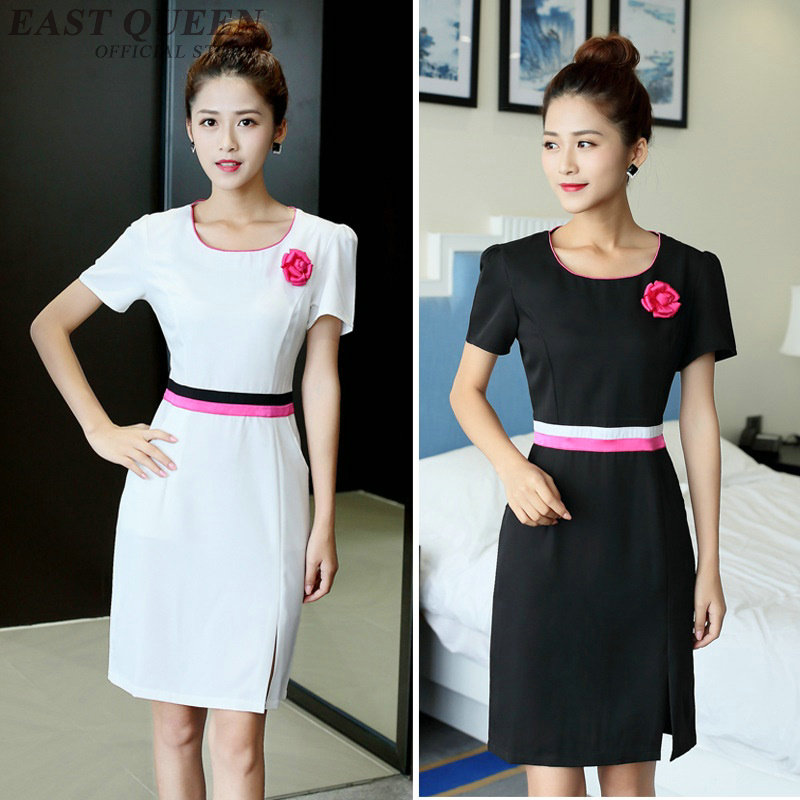 Hospital medical nursing uniform women clothing surgical overalls dress medical suits scrubs doctor clothes  DD442  F