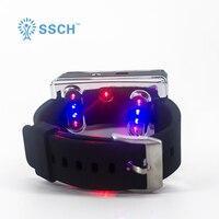 Физиотерапия здоровья иглоукалывание Нили низкого уровня холодно лазерный свет терапии часы аппарат для физической терапии