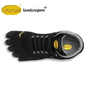 Image 3 - Vibram Fivefingers Trek zapatillas de deporte para hombre, calzado de senderismo para deportes al aire libre, entrenamiento de lana cálida para invierno, calzado de escalada de montaña