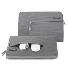 Mosiso Laptop Handbag Case 11.6 13.3 15.6 inch Sleeve Bag Denim Notebook Computer Carry Cases for MacBook Air Pro 11 13 15