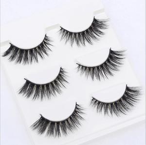 Image 2 - 13 diversi stili Sexy 100% Handmade 3D visone dei capelli di Bellezza di Spessore Lungo Ciglia di Visone Ciglia Finte Ciglia Ciglia di Alta qualità