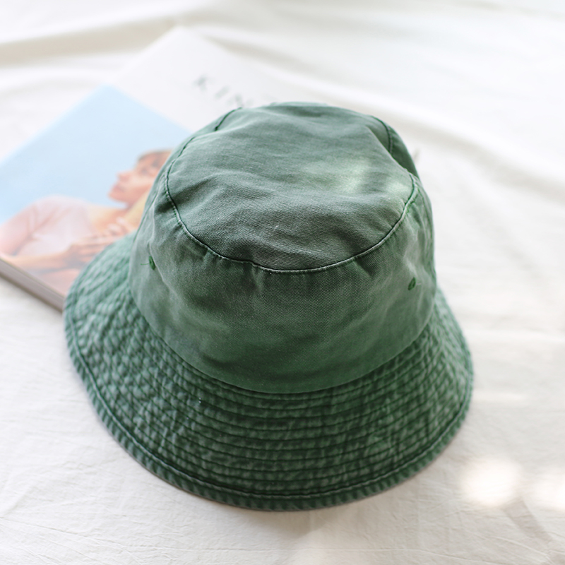 0bf631a0bf4 2018 Leisure Outdoor Cowboy Hole Do Old Fisherman Hat Men Women Bucket Cap  Sun Hat Unisex Denim Fashion For Summer Foldable-in Bucket Hats from  Apparel ...