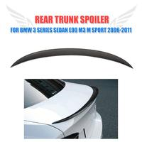 Trunk Boot Spoiler Carbon Fiber Wing Lip P Style Fit For BMW 3 Series E90 05
