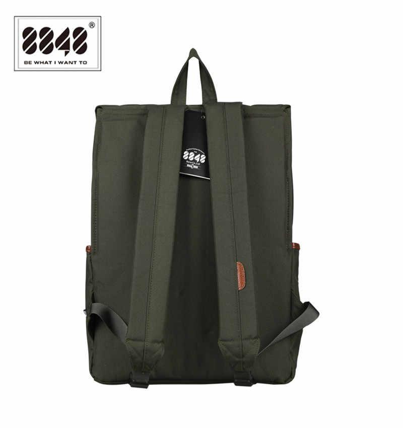 8848 мужские рюкзаки Amy Green повседневные сумки 100% полиэстер Бесплатная доставка рюкзак однотонный простой узор рюкзак для ноутбука D002-7