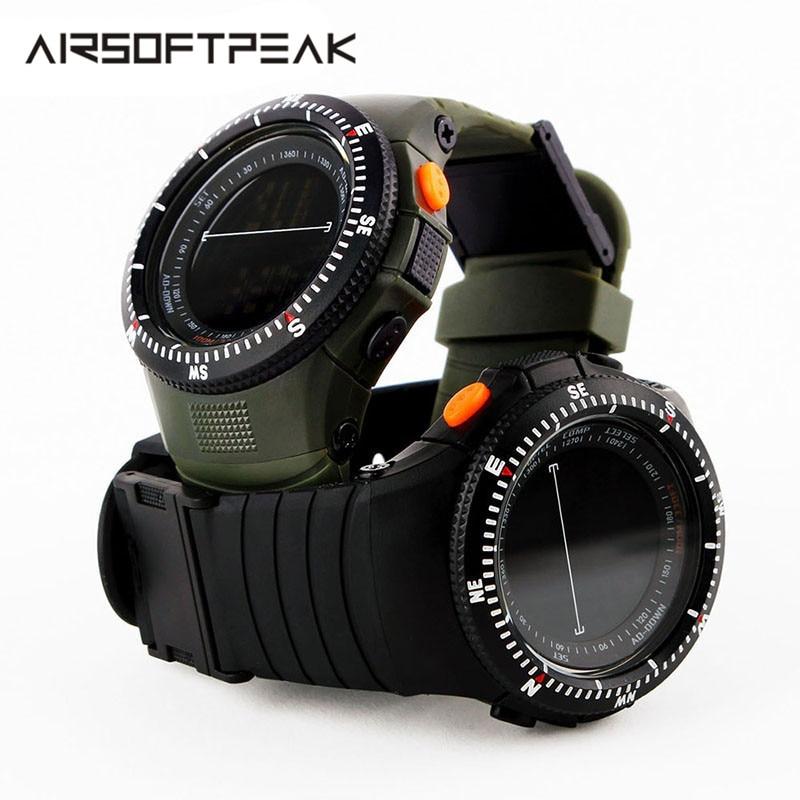 Military Tactical Watch Waterproof Multifunctional Shockproof Durable Outdoor Climbing Running Men Wristwatch Stopwatch Digital