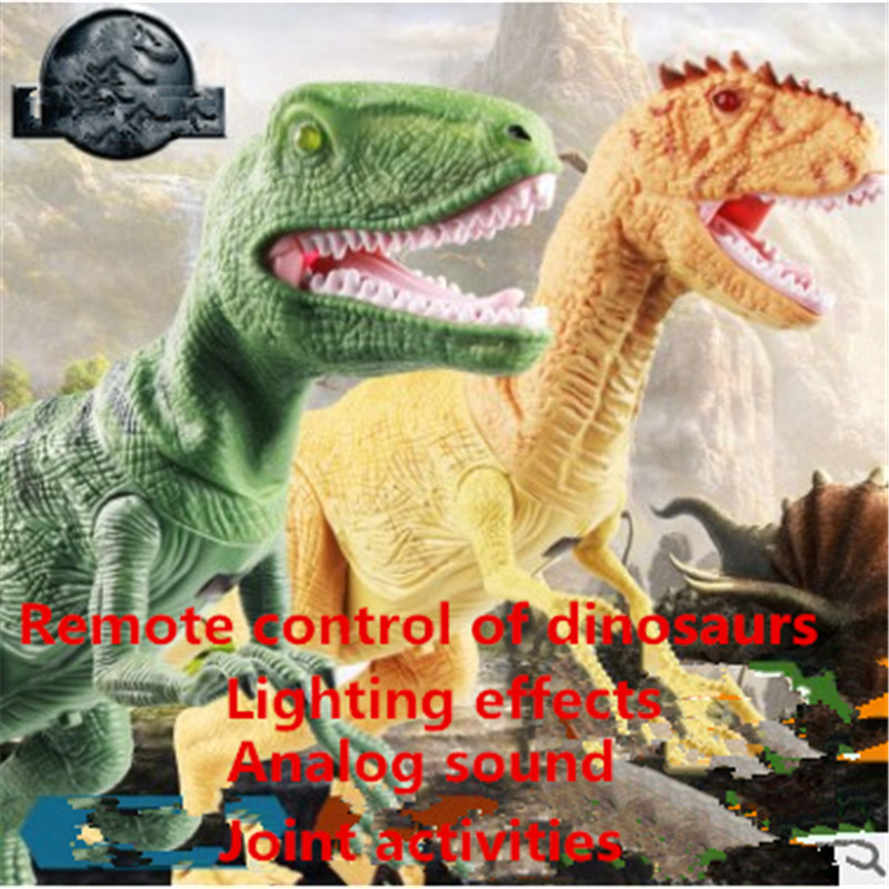 The dinosaur island Jurassic infrared remote control electric super large tyrannosaurus rex model children's toy big one simulation animal toy model dinosaur tyrannosaurus rex model scene