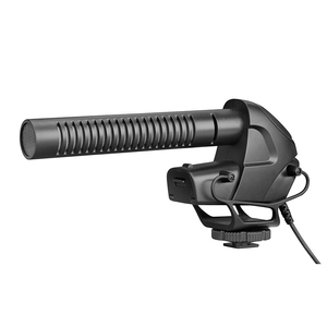 Image 4 - BOYA BY BM3031 On Camera Shotgun Microphone 3 Level Gain Control Condenser Mic for DSLR Audio Recorders Studio Video Interview