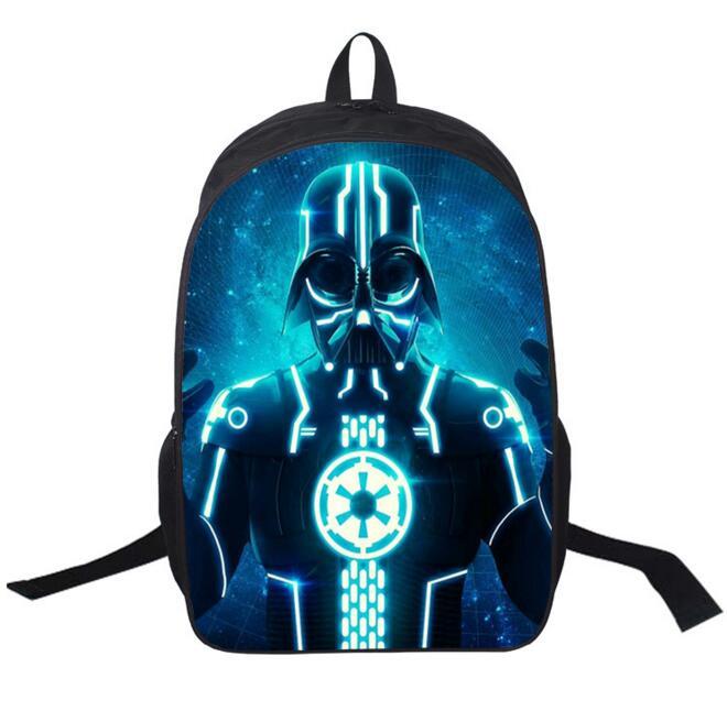 New School Bags Star Wars Backpack Cartoon Schoolbag Children Cartoon Bag Kids Bags Shoulder Backpack School Bags For Boys