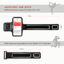 "Mpow Running Sport Armband for iPhone 7 Adjustable Sweat-proof Case w/ Earphone and Key Holder for iPhone 7 etc 5.1"" Smarphones"