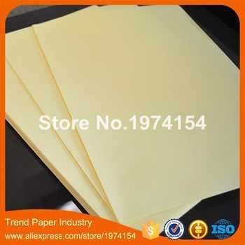 200 枚 A4 PVC クリア透明フィルムステッカー紙シート自己粘着光沢フィットレーザープリンタ 210 × 297 ミリメートル