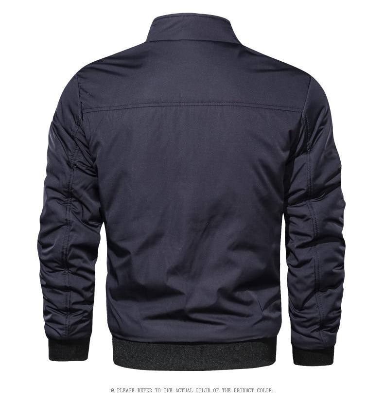 LBL Casual Bomber Jacket Men Slim Fit Autumn Winter Double Side Mens Military Jackets Outwear Coat Man Sportswear Tracksuit 2019
