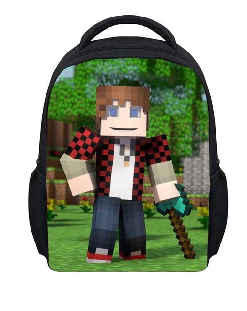 522bf88dd0 Minecraft My World Series 2 Creative Cartoon Student Backpack Shoulder Bag  Personalized Backpack Schoolbag Ab03 Free Shipping