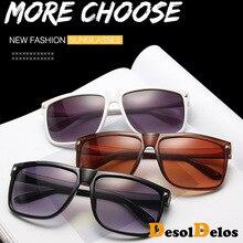 Fashion Square Sunglasses Women 2019 Brand Designer Black Frame Sun Glasses For Man Eyewear Ladies Goggles Shades UV400