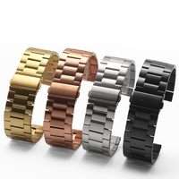 Four Colors 26mm Width Classic Stainless Steel Metal Strap For Garmin Band Metal Band For Garmin