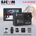 """Estoque! Original SJCAM Notavek 24fps SJ6 LENDA 4 K Ultra HD 96660 Câmera de Ação À Prova D' Água 2.0 """"Tela Sensível Ao Toque de Controle Remoto Esportes DV"""