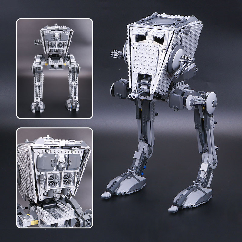 the AT ST 05052 Legoing Star wars AT ST Walker 75153 Set Building Blocks Bricks Model Model Gifts Kid Toys