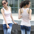 Racerback shape Casual tight tanks Women Sleeveless Tank Tops modal cotton no Sleeve T-Shirt Vest undershirt custom image print