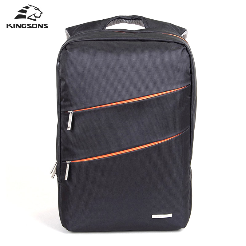 Kingsons Fashion Laptop Backpack Waterproof Large Capacity High Quality Bag for Men and Women Travel Business Notebook Computer