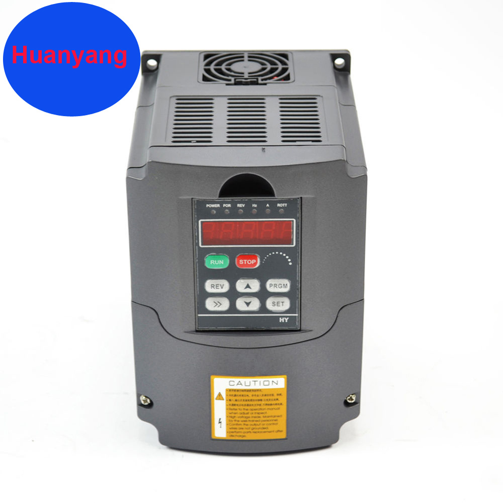 frequency inverter for motor 1.5KW 220V 2HP 7A variable frequency drive inverter  motor speed controller vfd