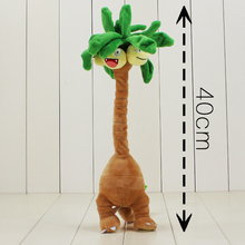 40cm Exeggutor plush cartoon doll toy cute tree doll Hot anime Exeggutor stuffed plush cotton soft Hot for children