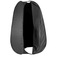 Neewer 6 Feet/183cm Portable Indoor outdoor Photo Studio Pop Up Changing Dressing Fitting Tent Room with Carrying Case Black