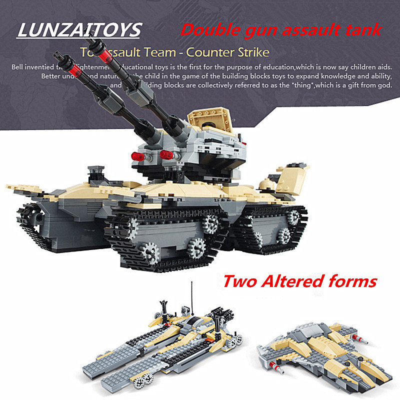 kids toys Assault tanks assembled puzzle fight inserted plastic toy building blocks small particles Boy best birthday present puzzle toy building blocks assembled fight inserted toys