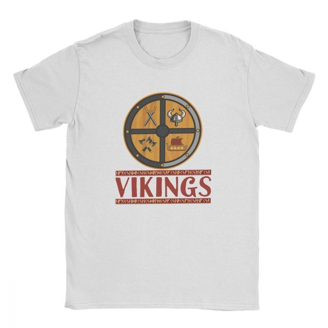 VIKINGS HELMER SWORD SHIP ODIN T-SHIRT (20 VARIAN)