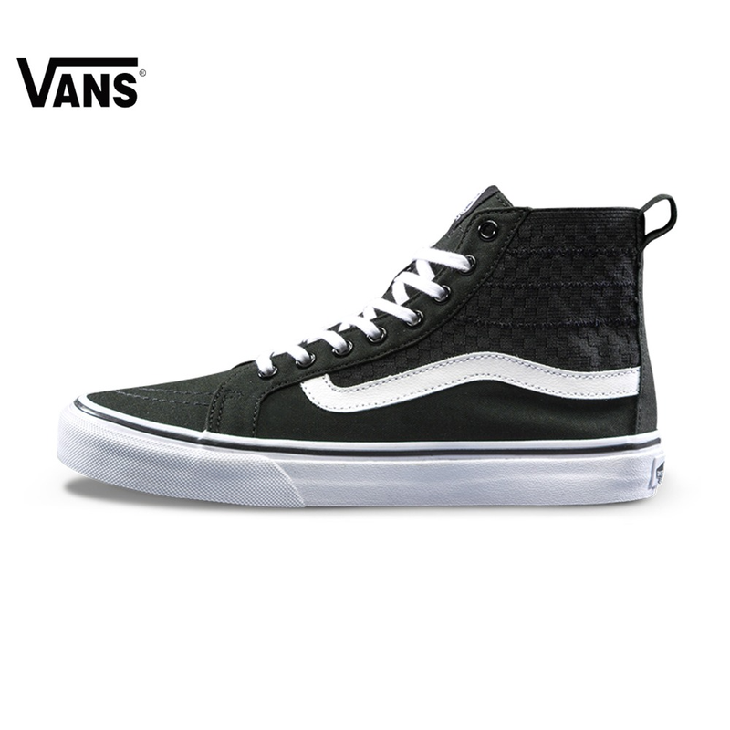 Original Vans New Arrival High-Top Women Skate Shoes Sports Shoes Canvas Shoes Sneakers converse all star