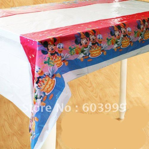 20 XMICKEY MOUSE CLUBHOUSE Birthday Party Supplies Mickey Mouse Clubhouse Tablecover