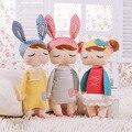 Kawaii plush stuffed animal dos desenhos animados para crianças brinquedos para as crianças meninas do aniversário do bebê presente de natal metoo coelho angela menina boneca