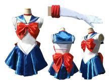 Kisstyle Мода Новые Аниме Довольно Солдат Сейлор Мун японского аниме косплей костюм женский Halloween Party Любой Размер