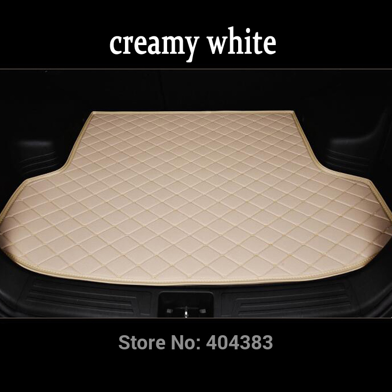 free shipping fit car trunk mat for Volvo C30 S60L S80L V40 V60 XC60 XC90 3D car styling heavy duty tray carpet cargo liner for honda crv cr v 2017 2018 auto trunk liner rear cargo boot mat 3d floor tray carpet mud pad waterproof protector car styling