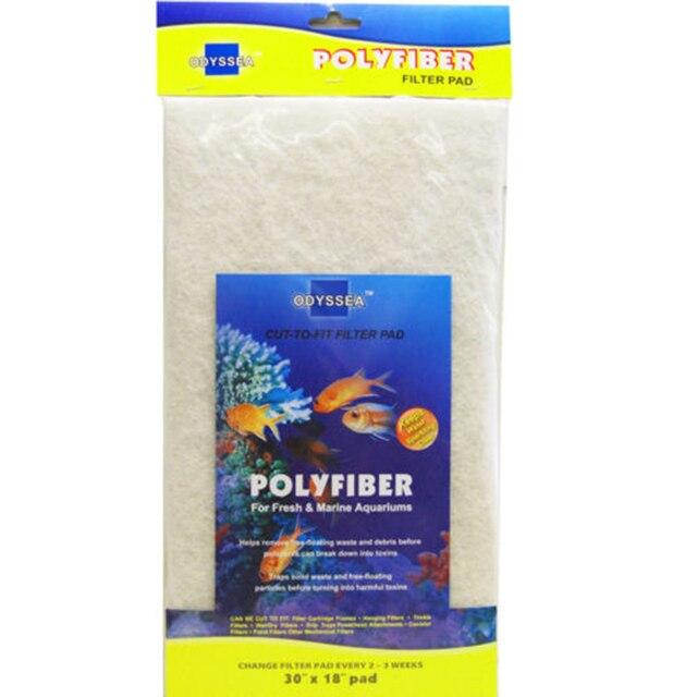 6 pcs lot odyssea filter pad cut to fit aquarium media carbon