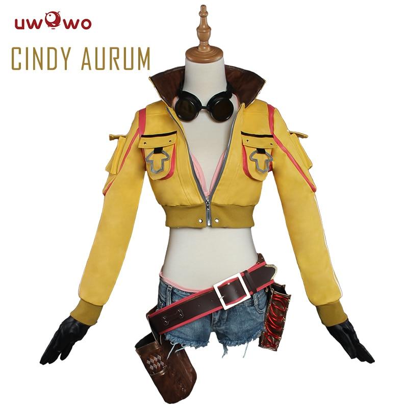 UWOWO Cindy Aurum Final Fantasy Cosplay FF15 FFXV Costume Anime Final Fantasy Cosplay Cindy Aurum Women Costume