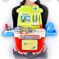 30PCS/Set Children Kids Kitchen Cooking Girl Boy Toy Cooker Play Set Birthday Gift Toddler Classic Pretend Play Kitchen Toy