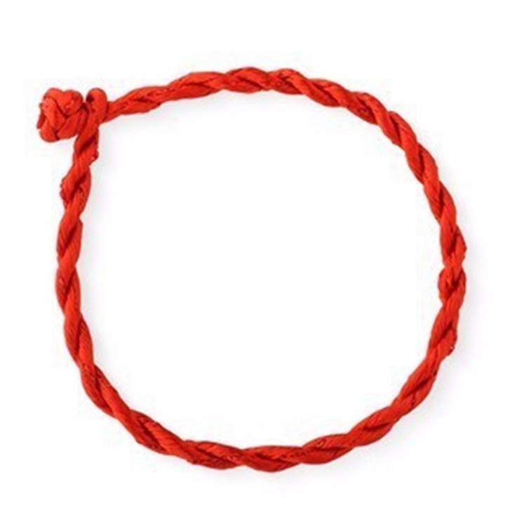 3  2.5mm 50CM Rope DIY Red Black Rope Twist Hand Woven Necklace Bracelet Jewelry Accessories Rough Hand Rope