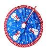 Snow Plush Christmas Tree Skirt Base Floor Mat Cover XMAS Merry Christmas Tree Ornament Santa Claus