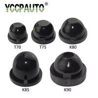 YCCPAUTO HID LED cubierta de faro sellado de polvo tapa de goma impermeable a prueba de polvo de coche faro tapas 70mm 75mm 80mm 85mm 90mm|Accesorios de iluminación de coche|Automóviles y motocicletas -