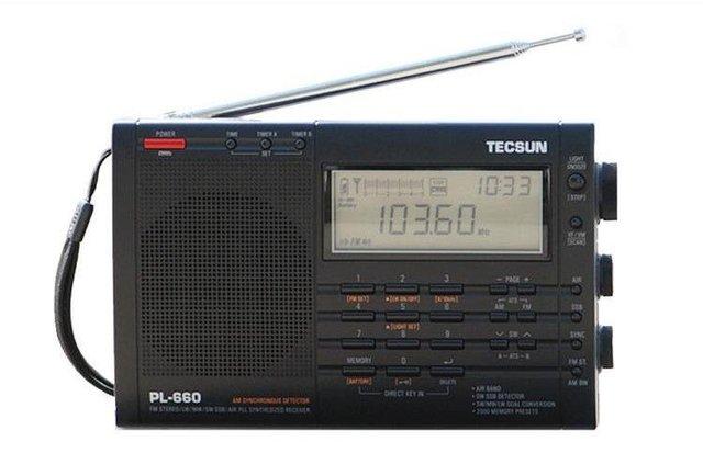 Free Shipping Retail-Wholesale Tecsun pl-660 FM radhio Stereo LW MV SW-SSB AIR PLL SYNTHESIZED PL660 Radio