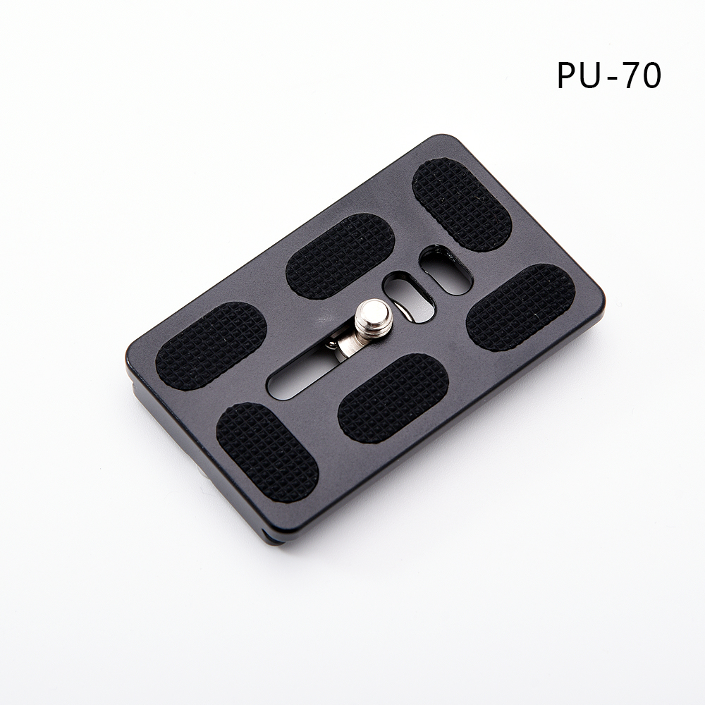 Pu-70 Quick Release Plate For Benro Sirui Tripod Ballhead with 1/4 Screw Fit for Arca Swiss