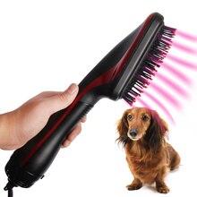2 в 1 расческа для сухих волос для домашних животных, высокое качество, портативная машинка для ухода за шерстью, анион, ветровой фен, массажер для собак и кошек