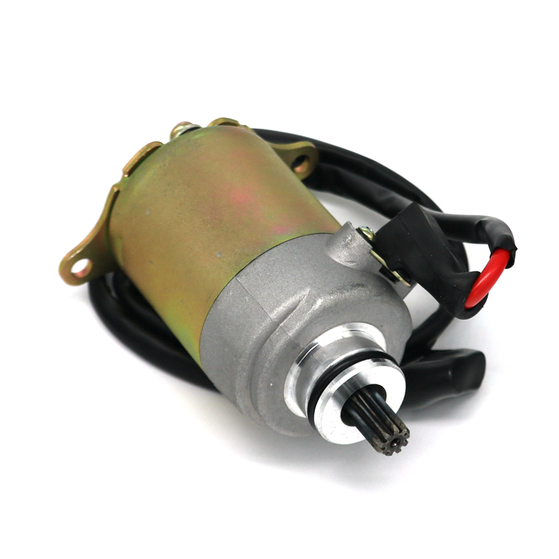 Motorcycle Starter Motor 9 Teeth GY6 125cc 150cc Quad Atv Bike Buggy Moped Scooter starpad for heroic gy6 125cc 150cc moped carburetor